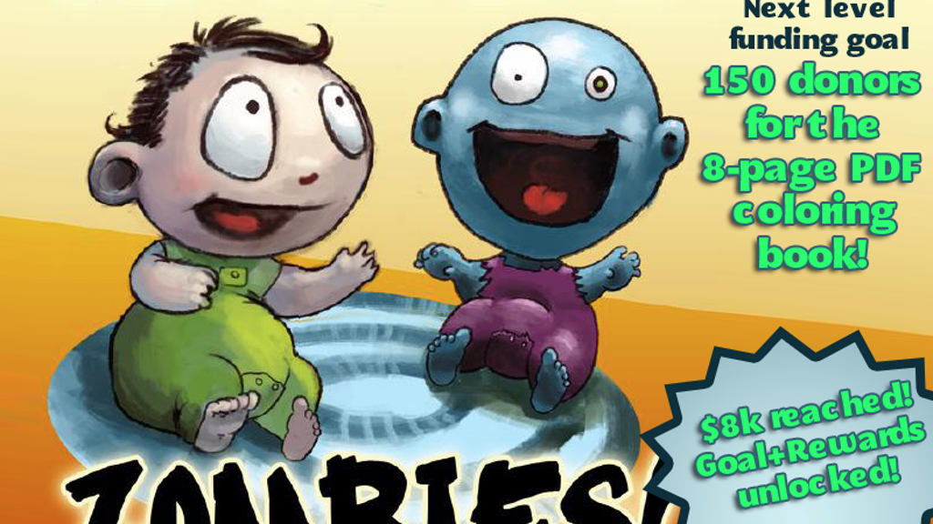 A Baby's First Book of Zombies project video thumbnail