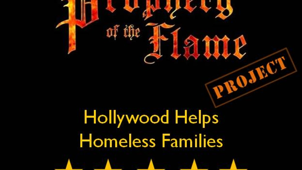 Project image for Hollywood Gives Kids a Warm Bed - The Prophecy Project