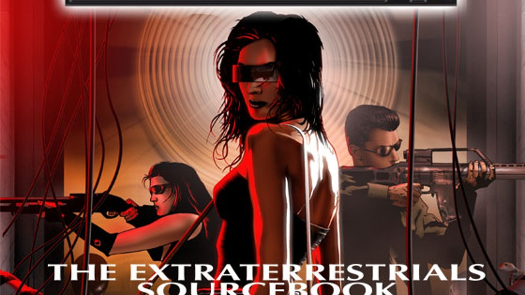 Conspiracy X RPG The Extraterrestrials Sourcebook project video thumbnail