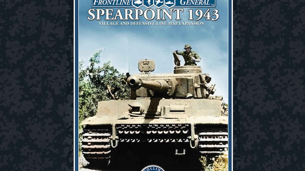 Frontline General: Spearpoint 1943 Map Expansion project video thumbnail