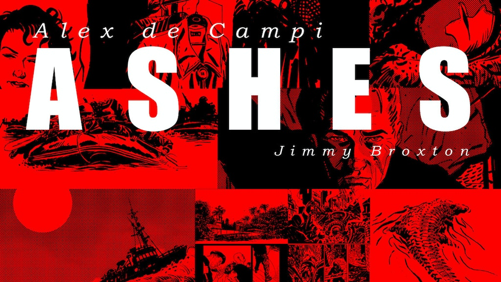 ASHES: A graphic novel by Alex de Campi & Jimmy Broxton project video thumbnail