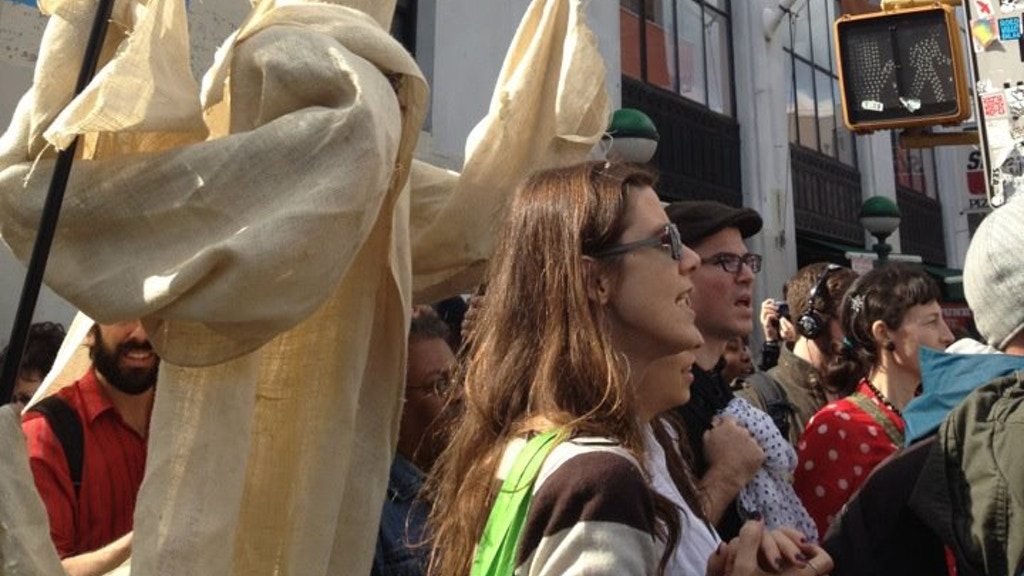 Occupy Wall Street needs GIANT PUPPETS to spread our message project video thumbnail