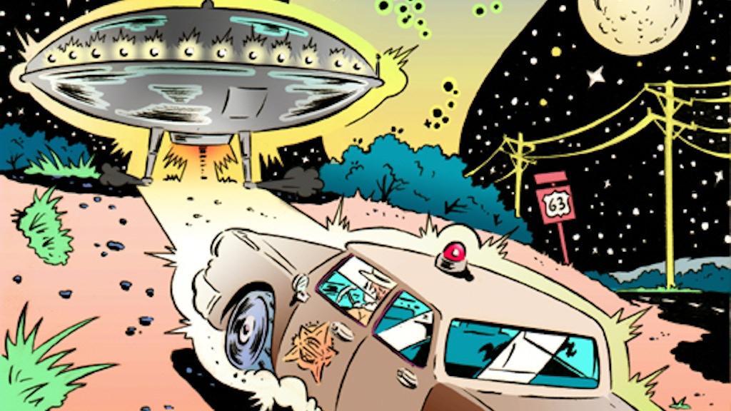 'December 3rd 1967: An Alien Encounter' Graphic Novel project video thumbnail