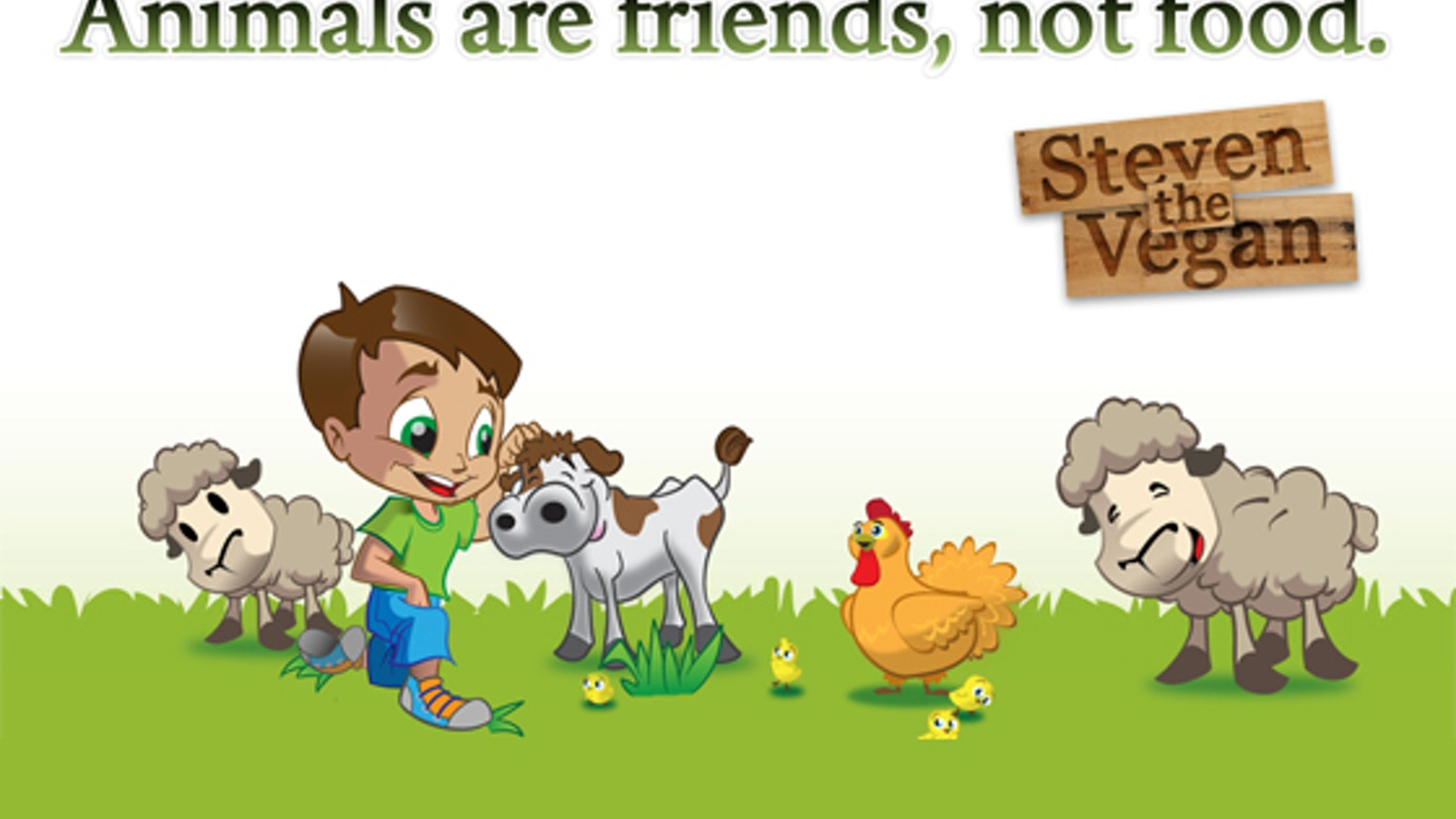Creation of a children's book for vegan children to help explain to their friends their lifestyle choice.