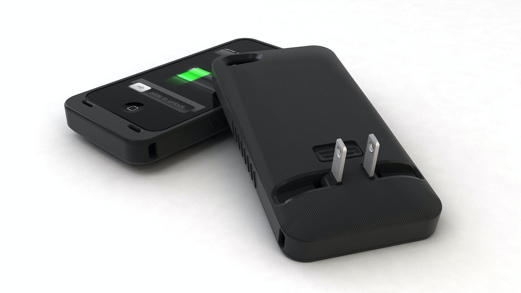 JuiceTank: The first ever iPhone CASE and CHARGER in one project video thumbnail