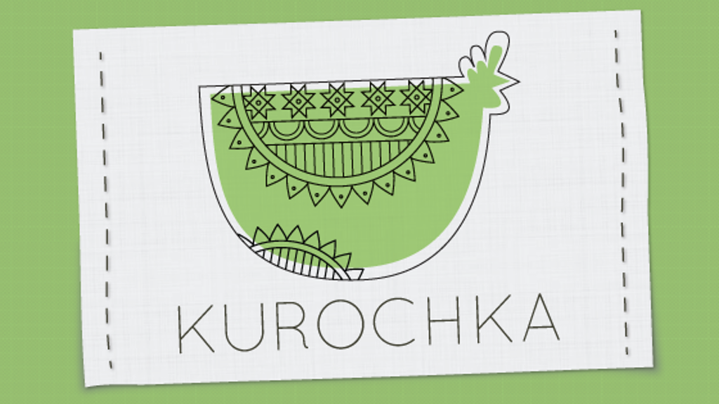 Kurochka: Hand-drawn T-shirts with a Taste of the Motherland project video thumbnail