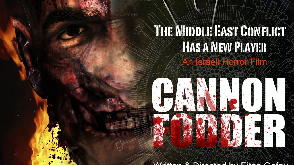 Project image for CANNON FODDER- First ever Zombie action movie from Israel