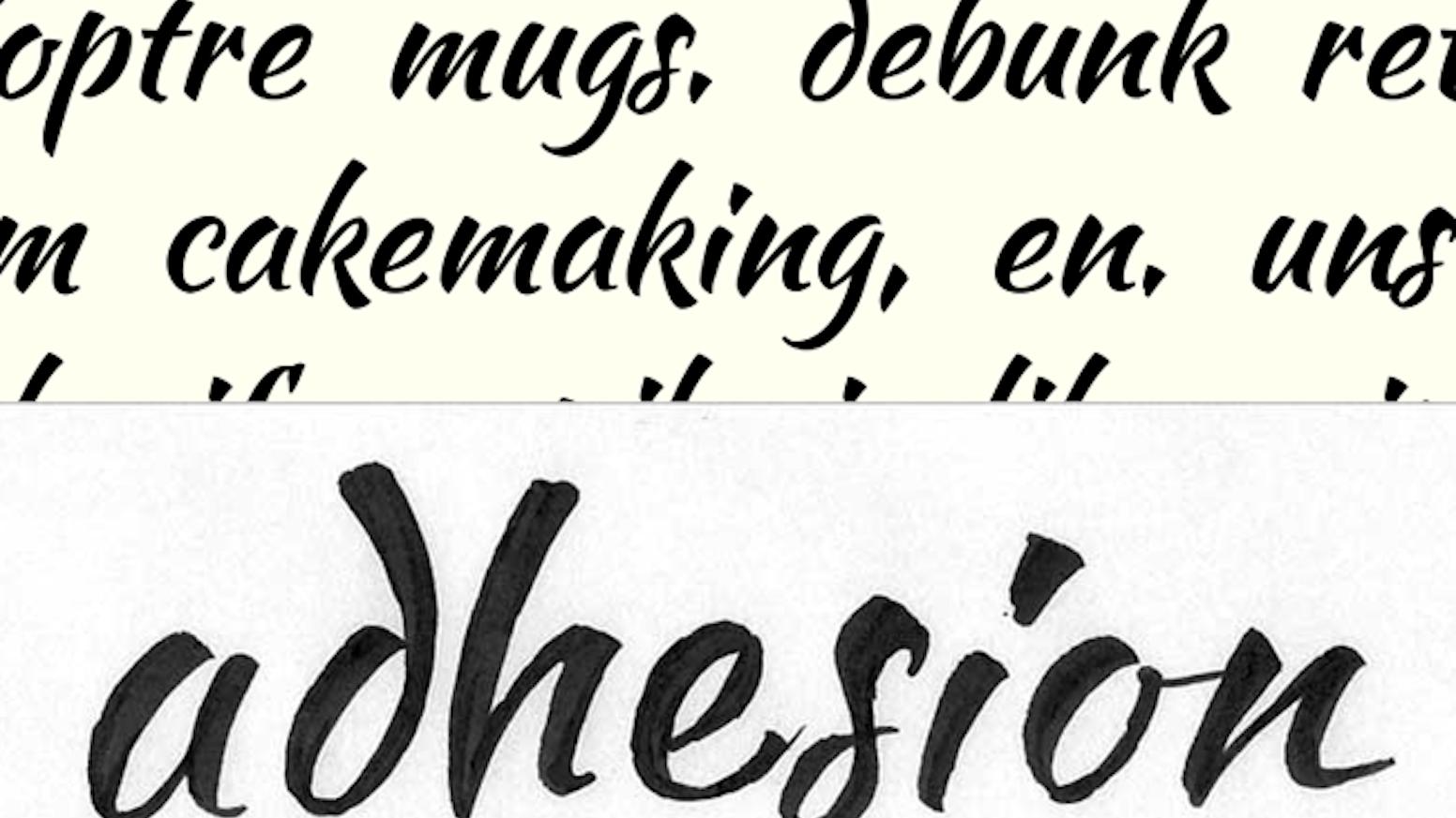Fast Brush Script Font by Pablo Impallari — Kickstarter