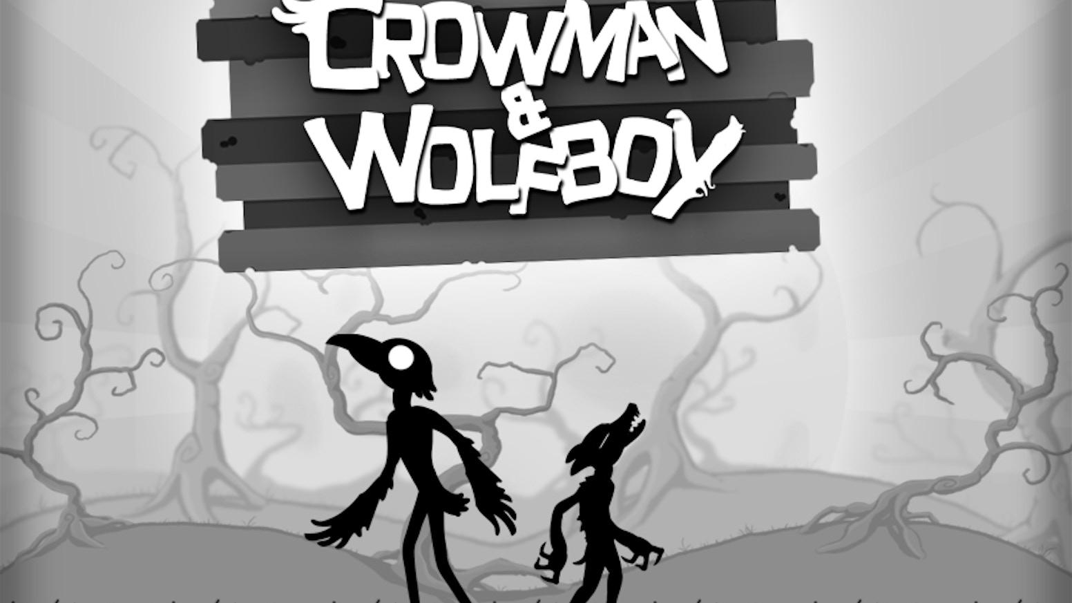 Crowman & Wolfboy - iOS Adventure by Wither Studios, LLC » Crowman