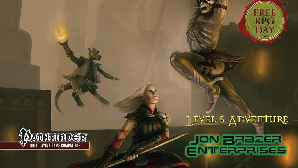 Free RPG Day Shadowsfall Adventure for Pathfinder RPG project video thumbnail