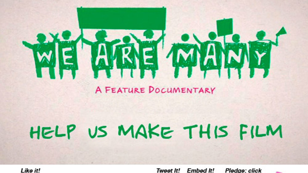 We Are Many - a feature length documentary film project video thumbnail