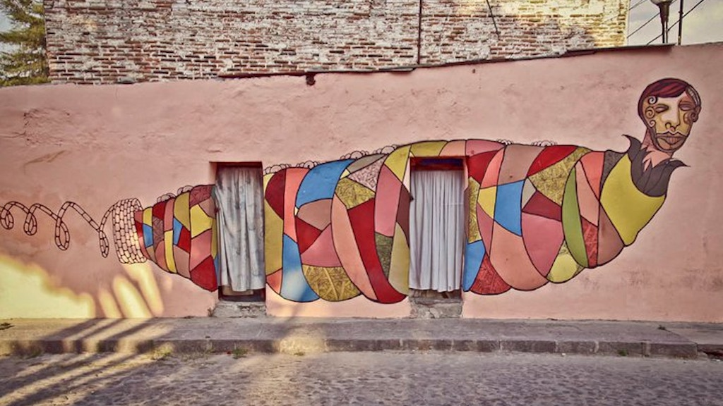 Puebla: Mural City project video thumbnail