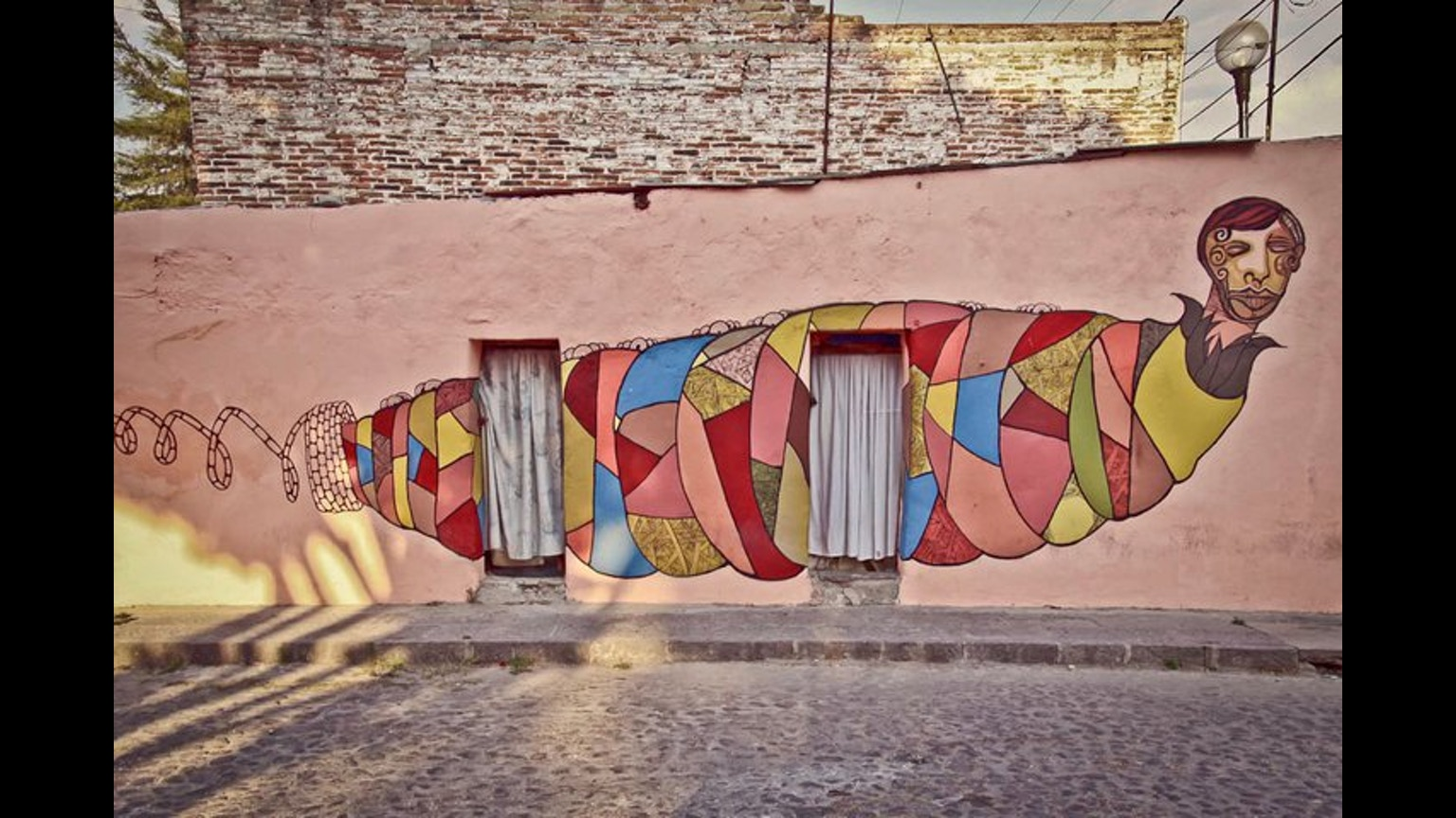 Puebla mural city by colectivo tomate kickstarter for City mural projects