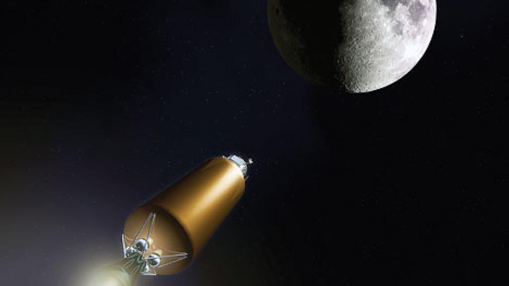 Project image for Lunar Rocket for 5K
