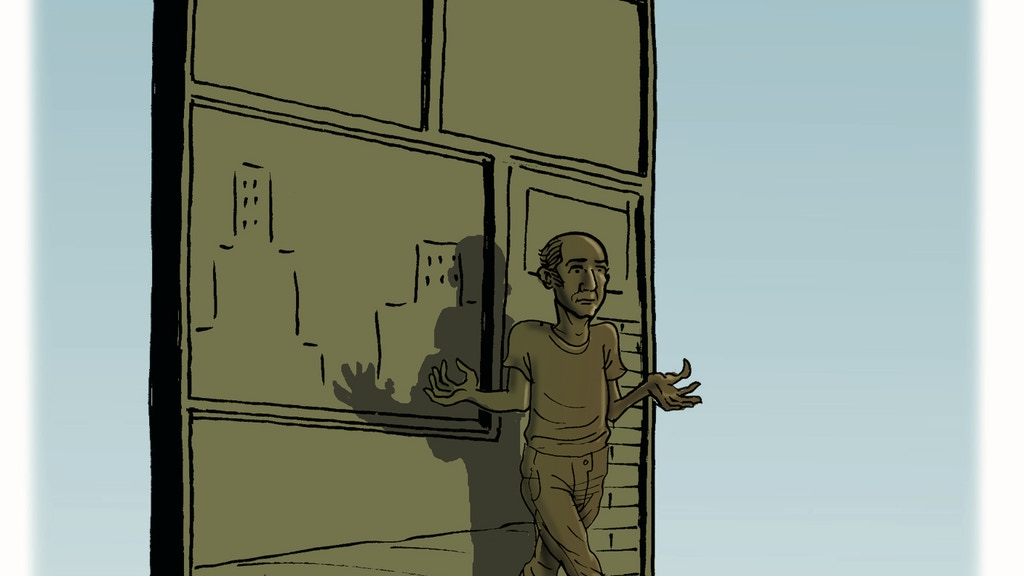 Harvey Pekar Library Statue: Comics as Art & Literature Desk project video thumbnail