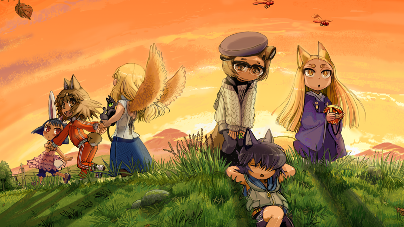 A heartwarming tabletop RPG from Japan about magical animals helping people.