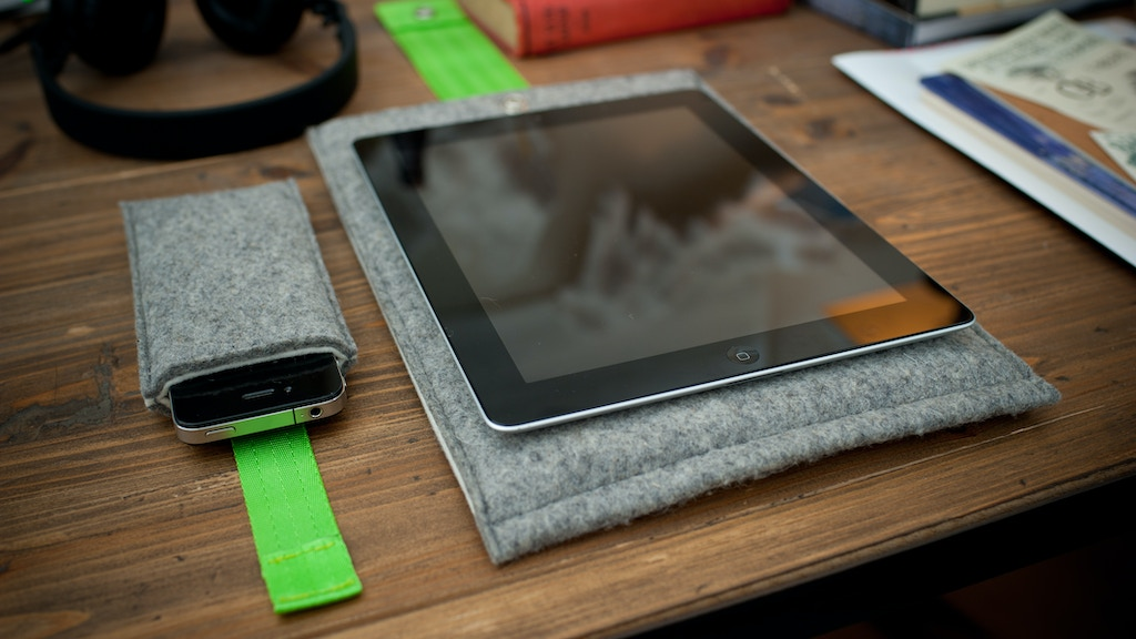 Biblio. Handmade felt sleeves for iPhone, iPad and Macbook project video thumbnail