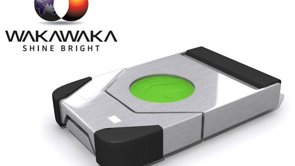 WAKAWAKA solar LED lamp with a story project video thumbnail