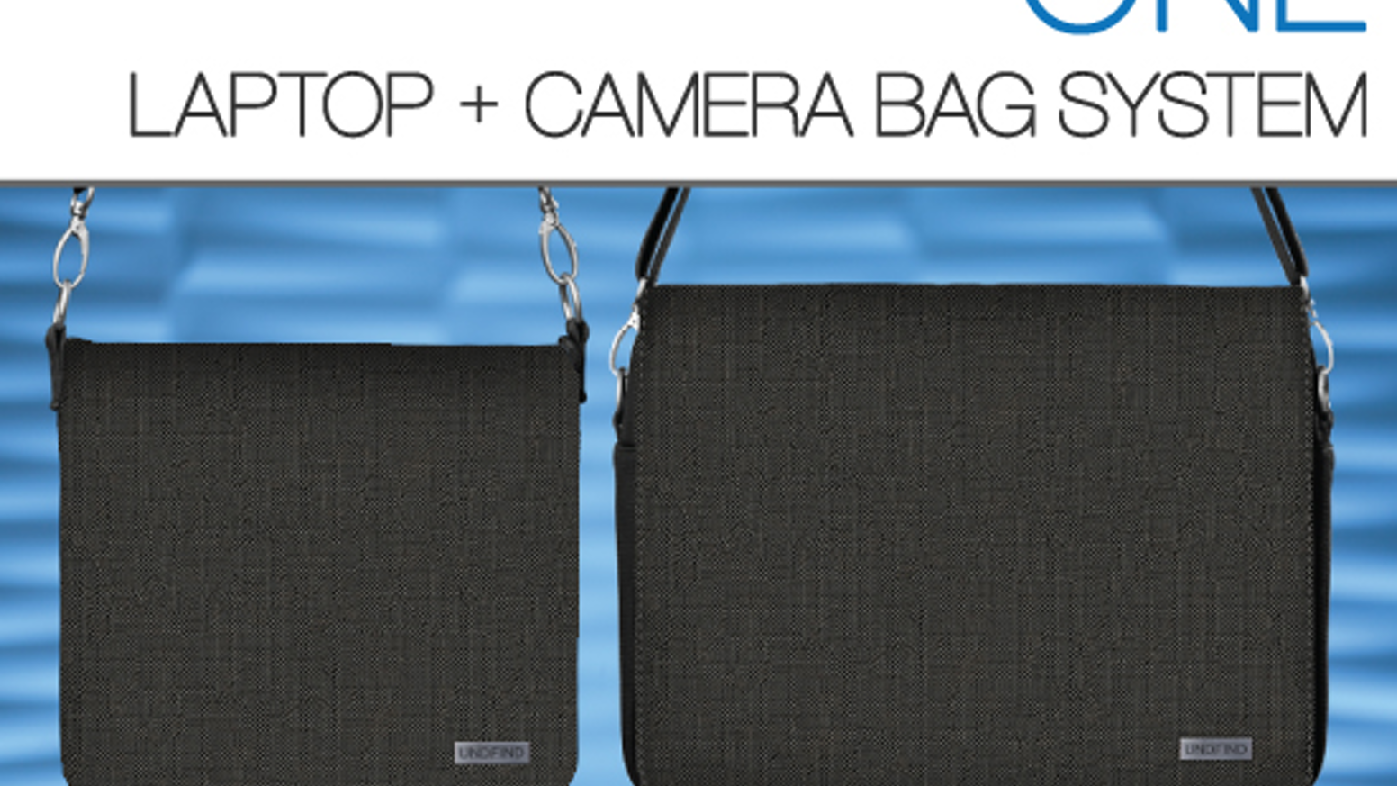 one laptop and camera bag system by undfind kickstarter