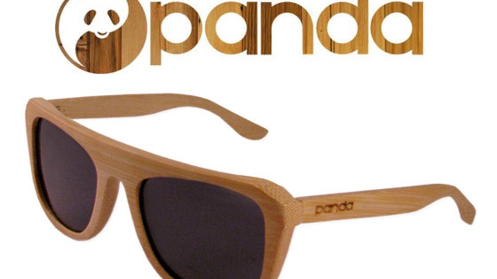 PANDA: Eco-friendly Handmade Bamboo Sunglasses project video thumbnail