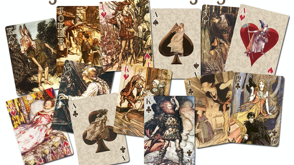 Project image for Fairy Tale Art Playing Cards (Canceled)