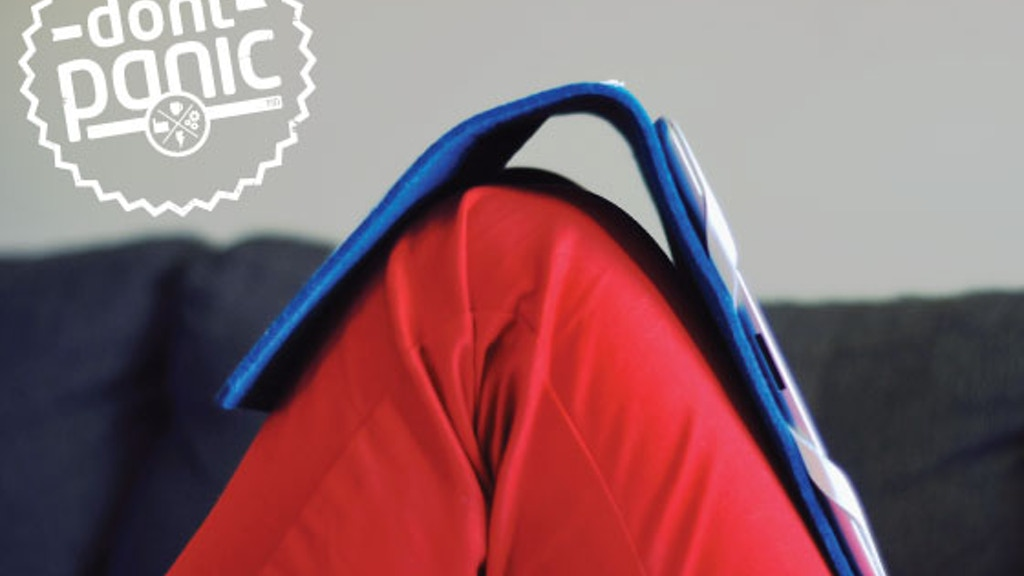 Don't Panic iPad Case & Stand project video thumbnail