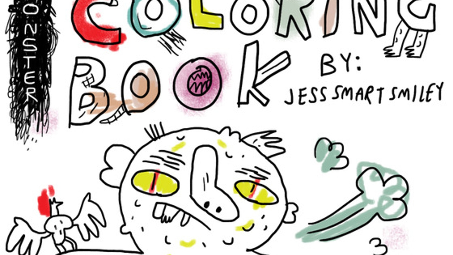 MONSTER COLORING BOOK* by jess smart smiley — Kickstarter