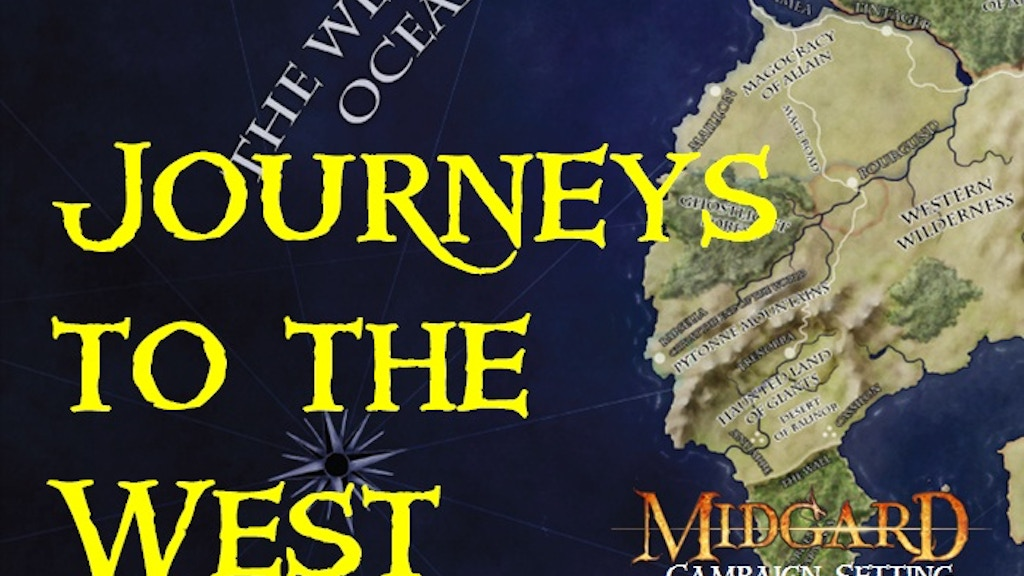 Journeys to the West: A Pathfinder RPG Voyage project video thumbnail