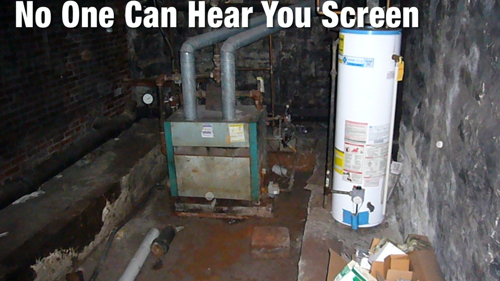 In the Basement, No One Can Hear You Screen project video thumbnail
