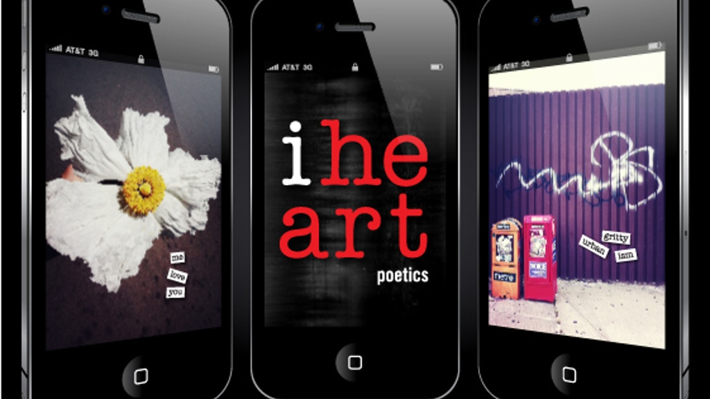 iheart poetics : a visual poetry app for iPhone project video thumbnail