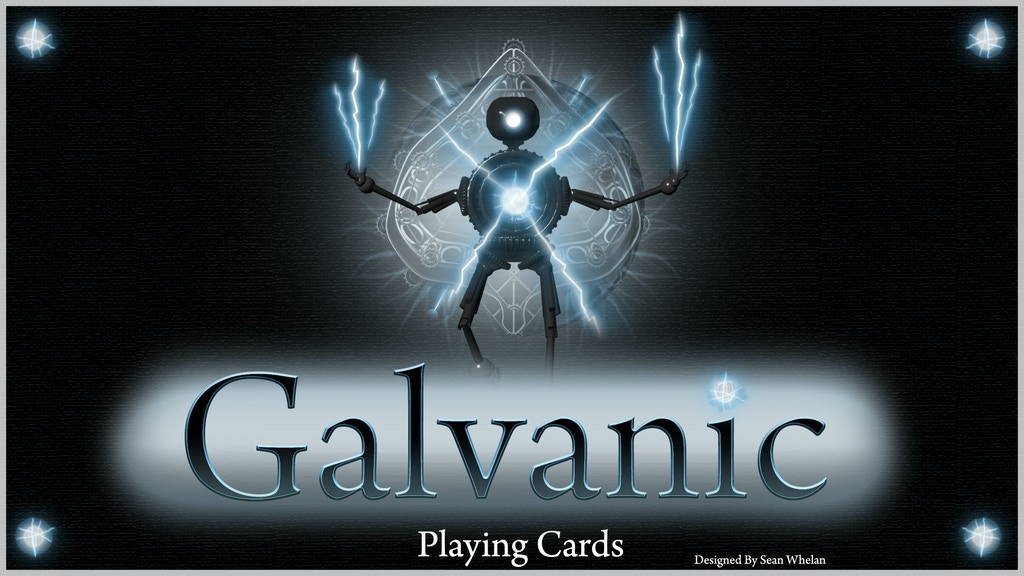 Project image for Galvanic Playing Cards