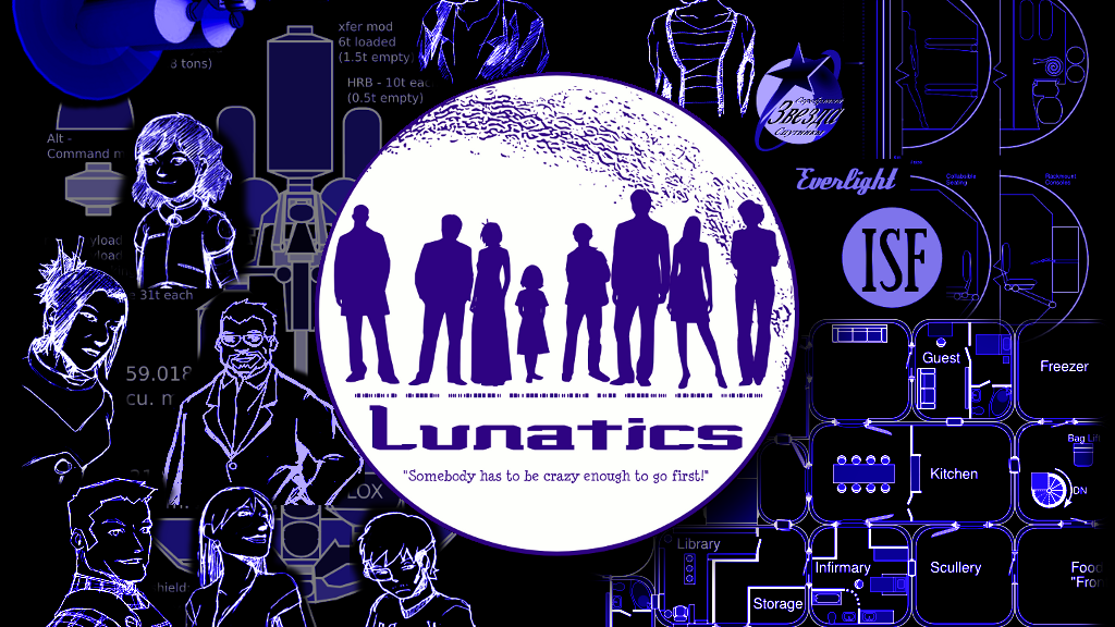 """Lunatics"" Web Series - Characters and Pre-Production Art project video thumbnail"