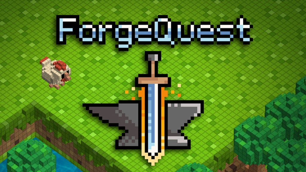 Forge Quest - A Sandbox Action RPG project video thumbnail