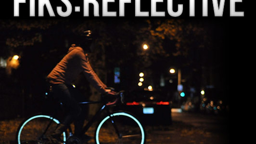 Fiks:Reflective Rim Stripes for Bicycles project video thumbnail