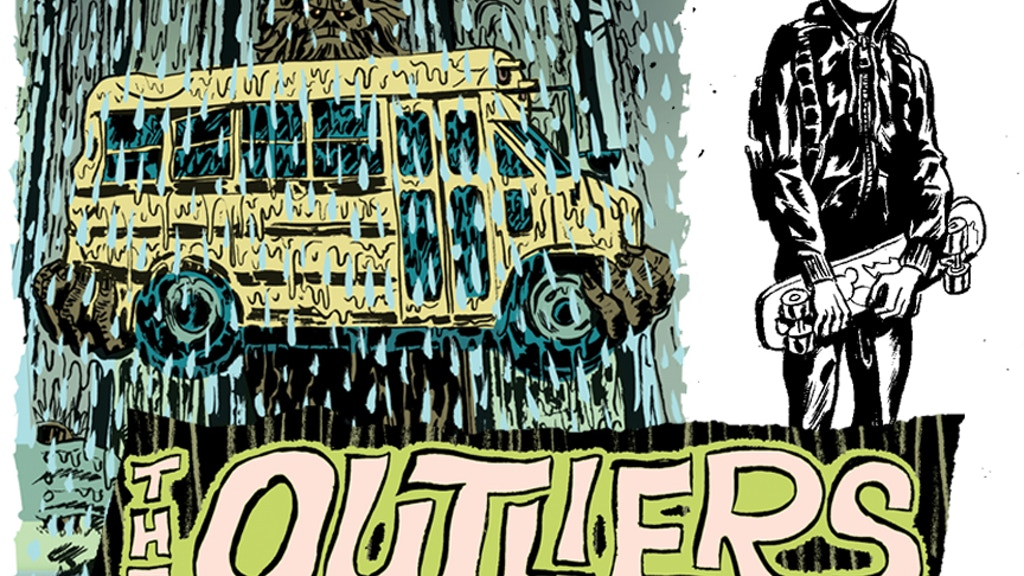 The Outliers - comic project video thumbnail