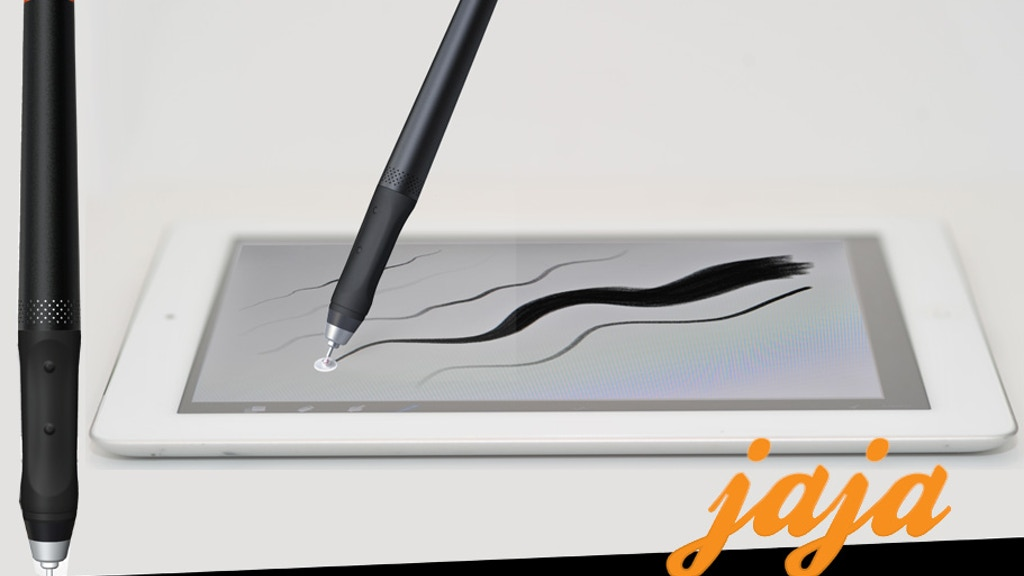 jaja :: Worlds First Pressure Sensitive Stylus for iPad project video thumbnail