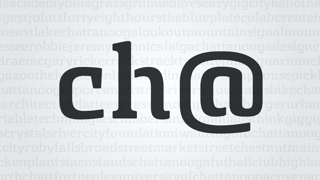 Chatype: A Typeface for Chattanooga, Tennessee. project video thumbnail