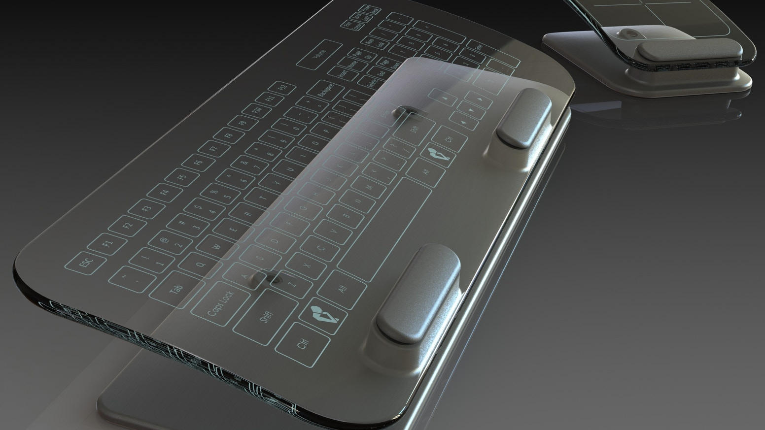 Multi-Touch Keyboard and Mouse by Jason Giddings (deleted