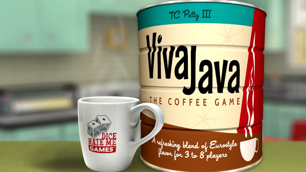 vivajava the coffee game by dice hate me games kickstarter. Black Bedroom Furniture Sets. Home Design Ideas