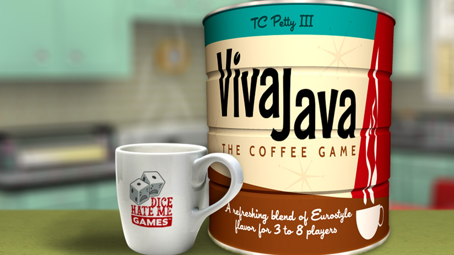 VivaJava: The Coffee Game by Dice Hate Me Games — Kickstarter