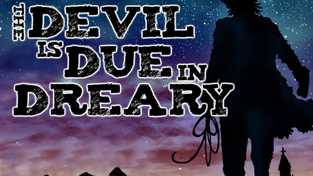 The Devil is Due in Dreary issues 2-4 by Daryl Freimark