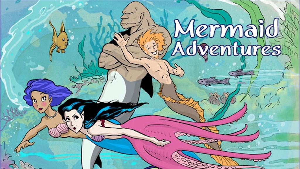 Mermaid Adventures, an RPG of Undersea Fun project video thumbnail
