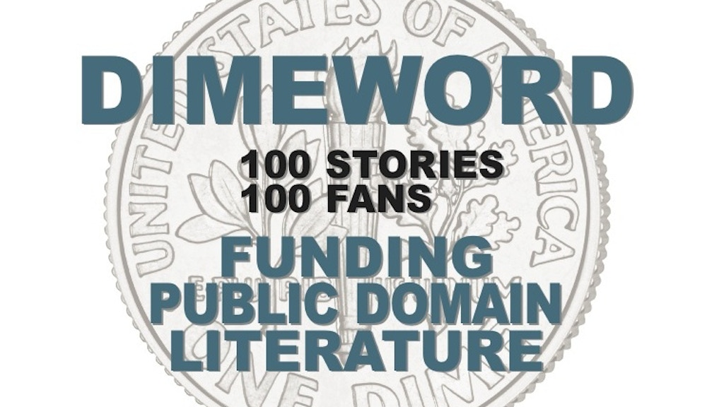 DIMEWORD: Funding Public Domain Literature project video thumbnail