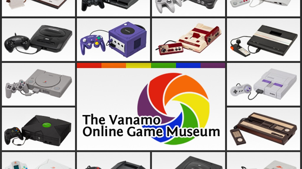 The Vanamo Online Game Museum project video thumbnail