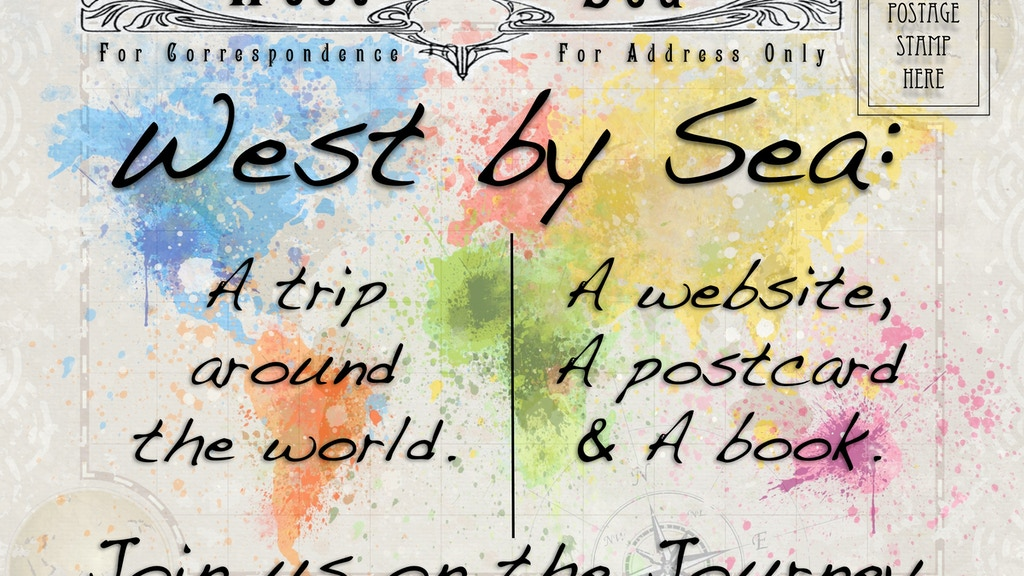 West By Sea: a Vicarious Virtual Voyage project video thumbnail