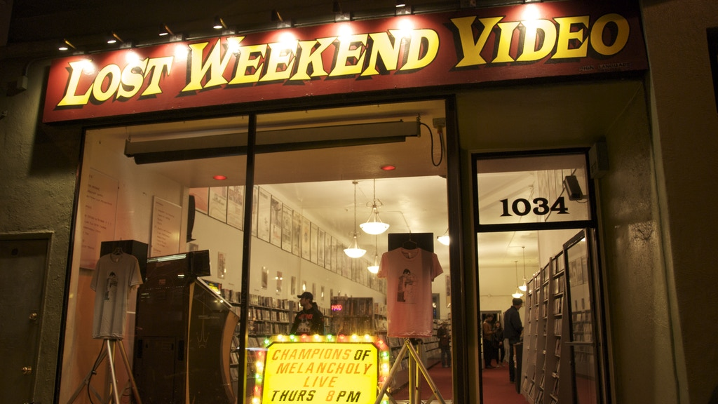 The Cinecave at Lost Weekend Video project video thumbnail