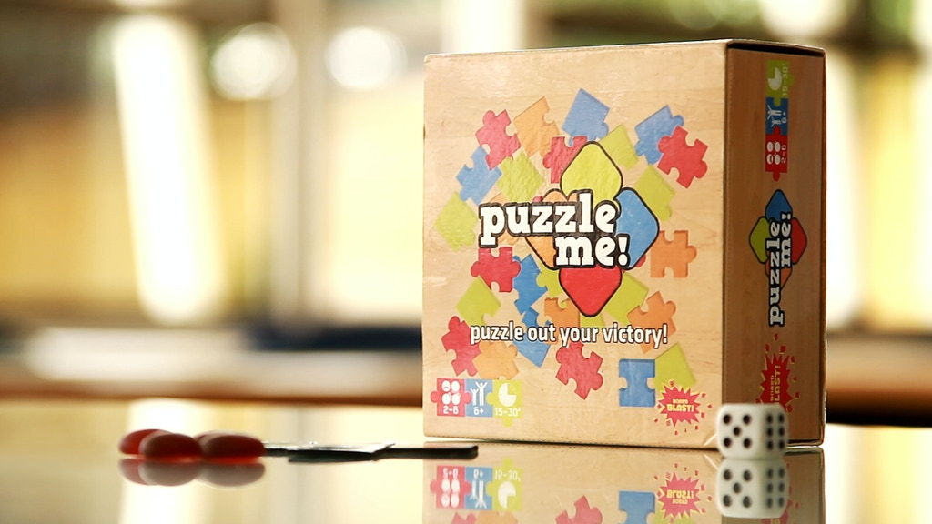 Puzzle Me! - A Family-Friendly Board Game project video thumbnail