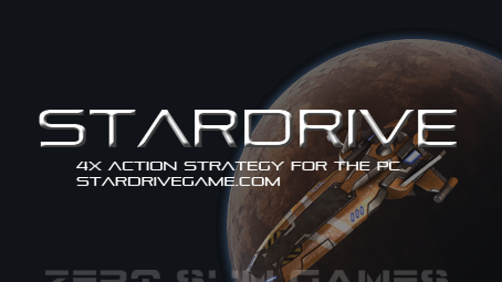 StarDrive -- a 4x Action Strategy Game for the PC project video thumbnail