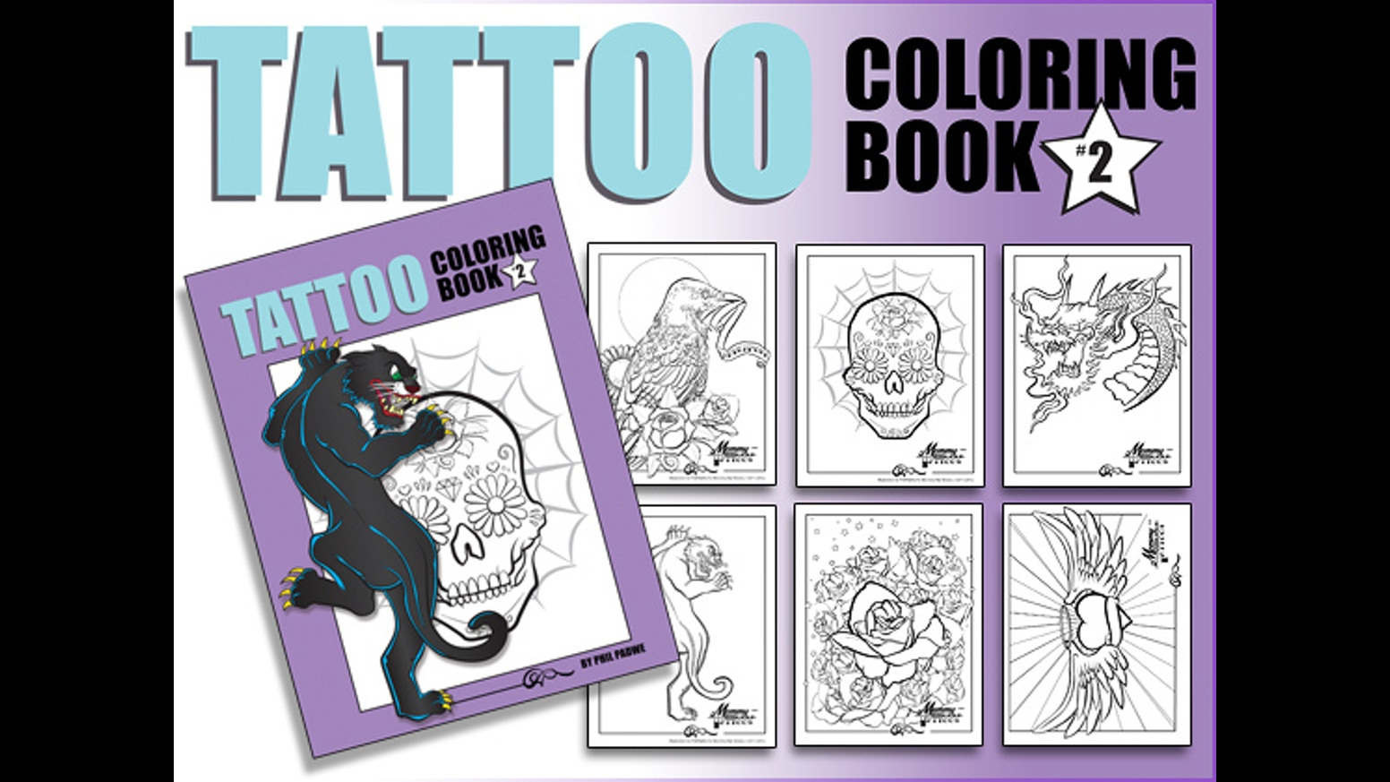 The coolest coloring book ever - Help Fund The Coolest Coloring Book Ever The Artist Behind Mommy Has A Tattoo Is Back With Over 30 Amazing Illustrations