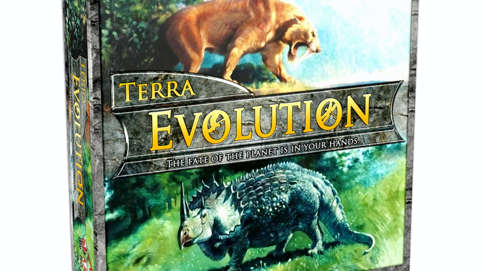 Terra Evolution is a fast-paced strategic deck/world-building game about species evolution, cataclysms and extinction.